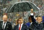 جام جهانی 2018|رنگ سیاست را باران شُست/ فصل گرما در روسیه تمام شد