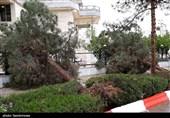 خسارت طوفان در 5 شهرستان استان گلستان؛ 62 خانوار آسیب دیدند