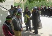 خدام حرم رضوی از فعالیتهای گروه جهادی دانشگاه پیام نور یاسوج بازدید کردند