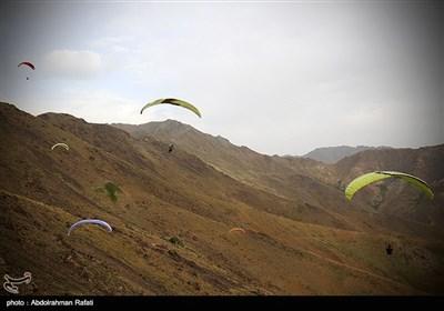 مهرجان الطیران المظلی - همدان