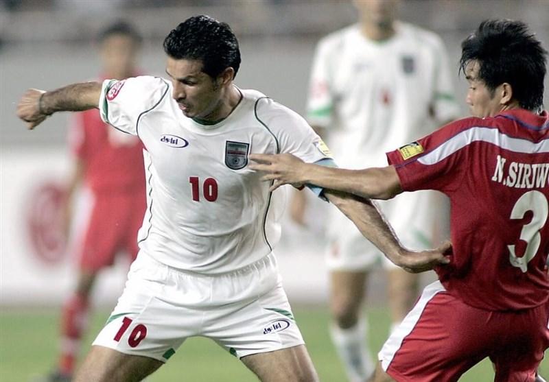 دایی، بهترین مهاجم ادوار جام ملتهای آسیا