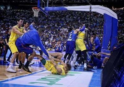 محرومیت سنگین بسکتبالیست های فیلیپین و استرالیا پس از کتک کاری در زمین