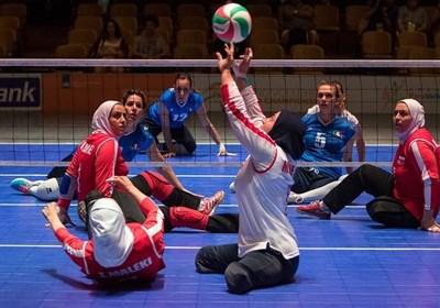 والیبال نشسته قهرمانی جهان/ عنوان نهمی تیم بانوان ایران با برتری مقابل ژاپن
