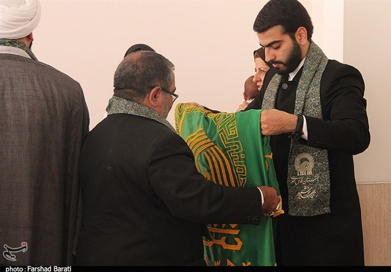 حضور خدام رضوی در نماز جمعه اهلتسنن کرمانشاه