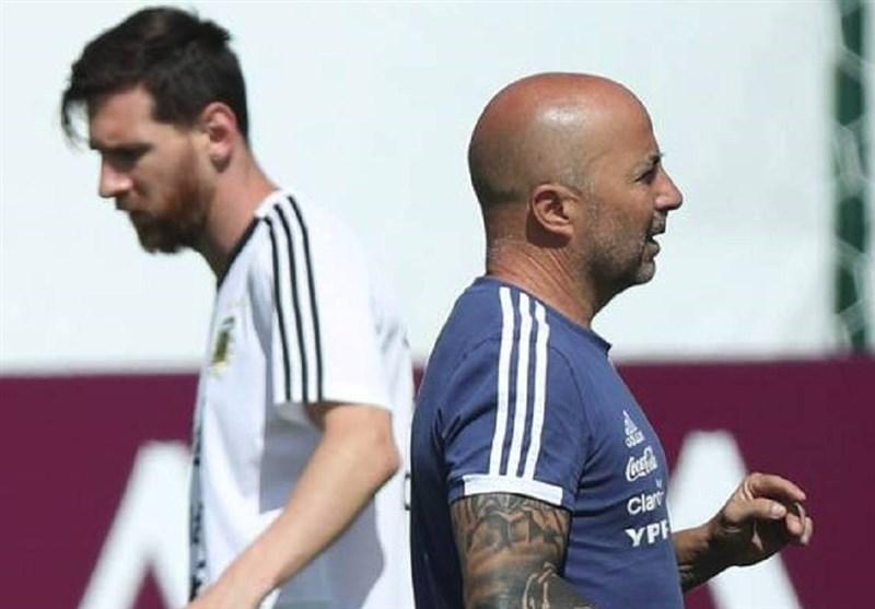 افشای ماجرای مشاجره مسی و سامپائولی در اردوی آرژانتین در جام جهانی