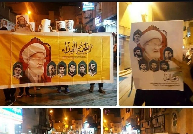 Bahrainis Hold Rally in Support of Sheikh Qassim
