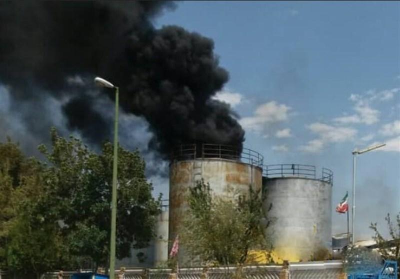 مرکزی| گزارش تسنیم از انفجار در شهرک صنعتی خمین؛ مهار آتش و کشته شدن 2 کارگر براثر آتش سوزی+تصاویر