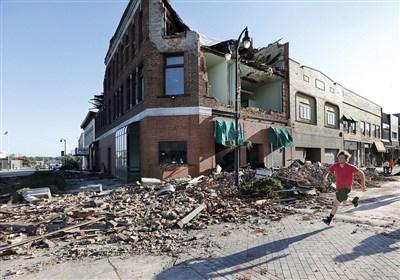 هجوم 27 گردباد به ایالت آیوا + فیلم