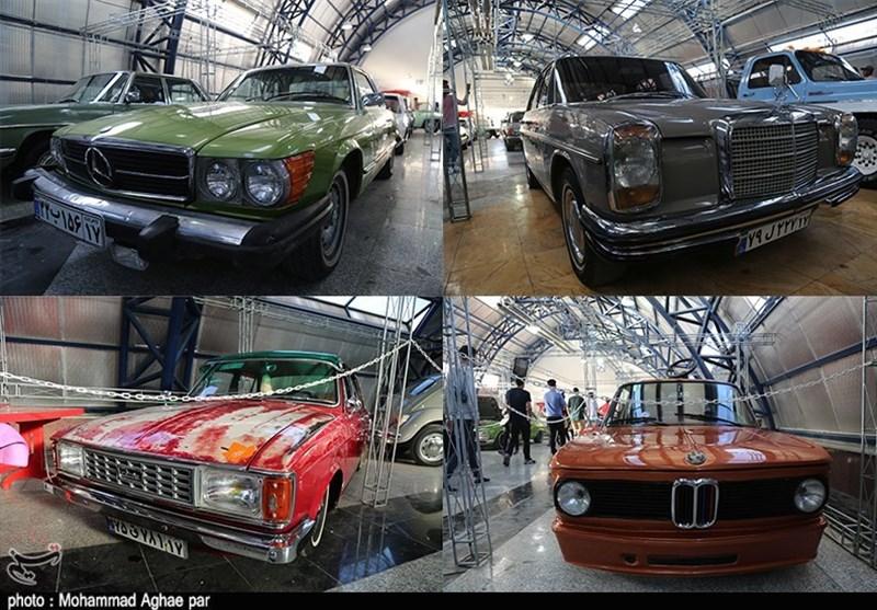 نمایشگاه خودروهای کلاسیک ارومیه به روایت تصویر