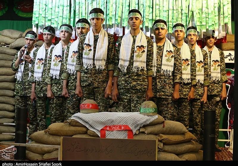 یادواره شهدای سورک در یزد به روایت تصویر