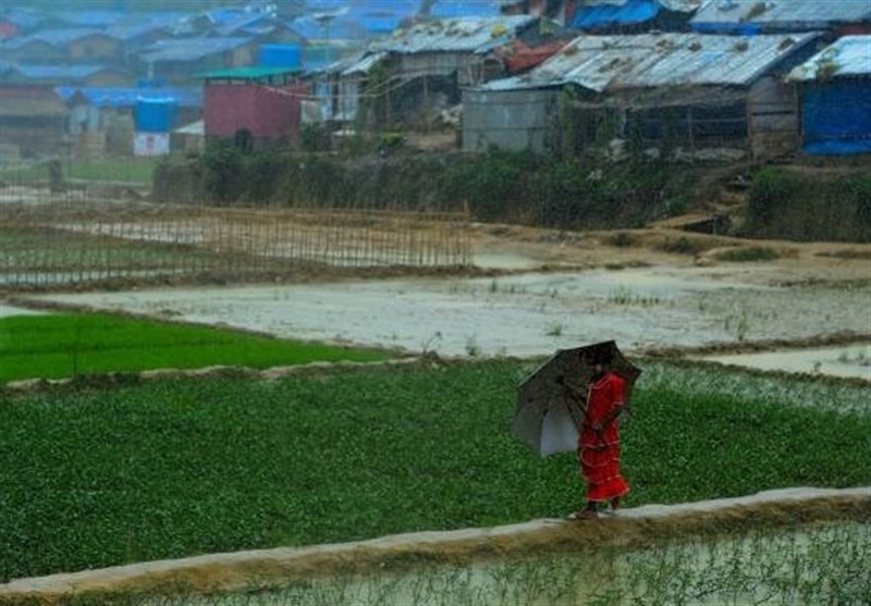 Rohingya refugee at Jamtoli refugee camp in Cox's Bazar, Bangladesh