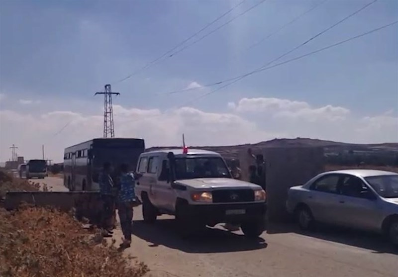 Evacuation of Militants, Families Continued from Quneitra Province (+Video)
