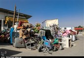 پاکسازی ورودیهای شهر ارومیه از ضایعات فروشان در دستور کار قرار گرفت