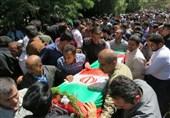 کردستان| مراسم تشییع پیکر مطهر شهدای عملیات تروریستی مریوان به روایت تصویر