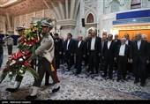 توضیح وزارت خارجه درباره حضور ظریف و سفرا در حرم امام (ره)