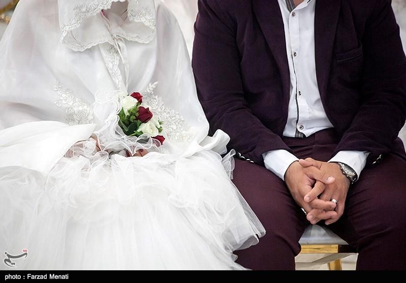 """فیلم/ عروس و دامادی که """"سیل"""" دار و ندار زندگیشان را با خود برد"""