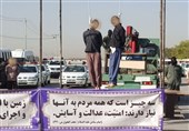 2 قاتل کودکان مشهدی صبح امروز در ملاءعام به دار مجازات آویخته شدند+ تصاویر