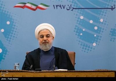 روحانی: فی الظروف الجدیدة نرید إصلاح مسار العلاقات السعودیة والاماراتیة والبحرینیة مع إیران