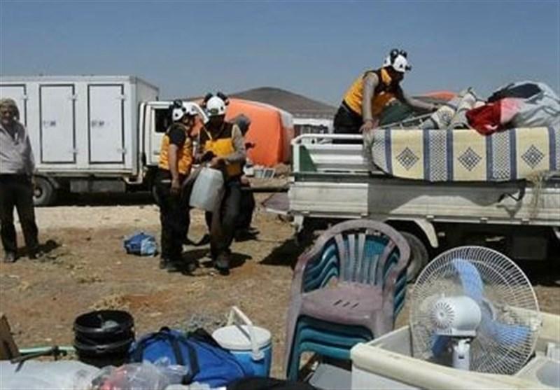 إسرائیل تقوم بإجلاء جماعة الخوذ البیضاء من الجنوب السوری