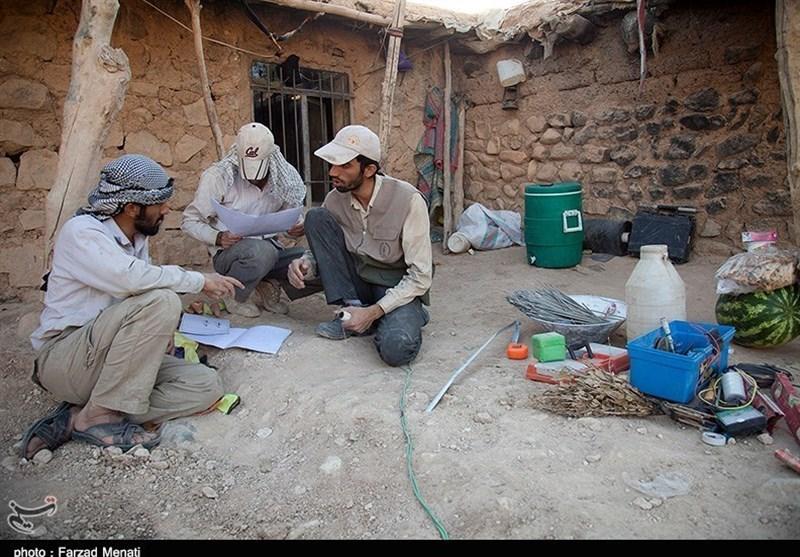 خدمت بیمنت  روایتی از فعالیت گروههای جهادی در مناطق زلزلهزده کرمانشاه