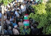 کردستان|پیکر مطهر 3 شهید عملیات تروریستی مریوان در قروه تشییع شد