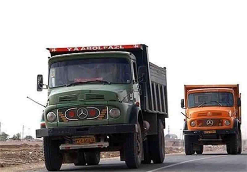 الزام کامیونهای باربری به پرداخت عوارض در تهران