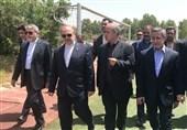 حضور مهدی تاج در جلسه ویژه سلطانیفر و صالحیامیری/ نشست سهجانبه در مورد فوتبال
