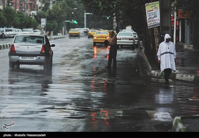 پیش بینی باران برای 5 استان/ تهران خنکتر میشود