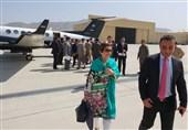 وزیر خارجه پاکستان در راس هیئتی 28 نفره وارد کابل شد