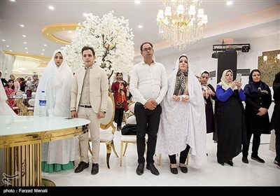 خورشید کے زیر سایہ کاروان کی شادی کی تقریب میں شرکت