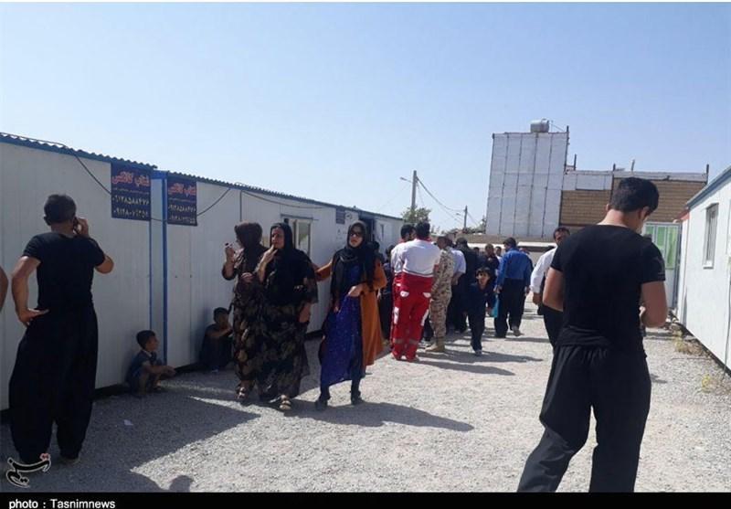 کرمانشاه| 248 مصدوم زلزله تازهآباد به بیمارستان مراجعه کردند