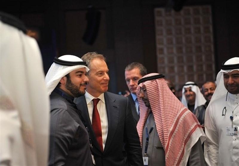 """آل سعود """"تونی بلر"""" را 12 میلیون دلار خرید"""