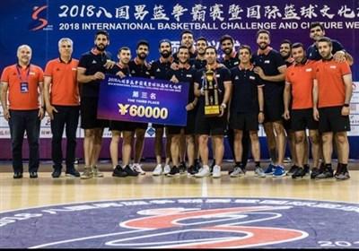 بسکتبال اطلس اسپورت| تیم ملی بسکتبال ایران سوم شد