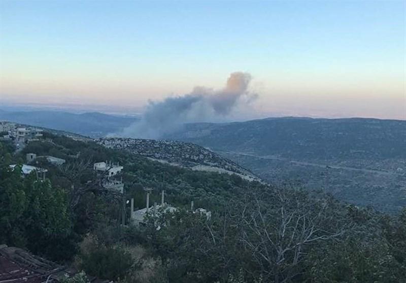 عدوان إسرائیلی جدید على منطقة مصیاف السوریة