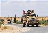 هجدهمین گشت زنی نیروهای مسلح ترکیه در اطراف منبج