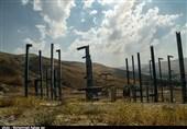 ارومیه| اسکلتی بیجان در قامت طولانیترین تلهکابین خاورمیانه