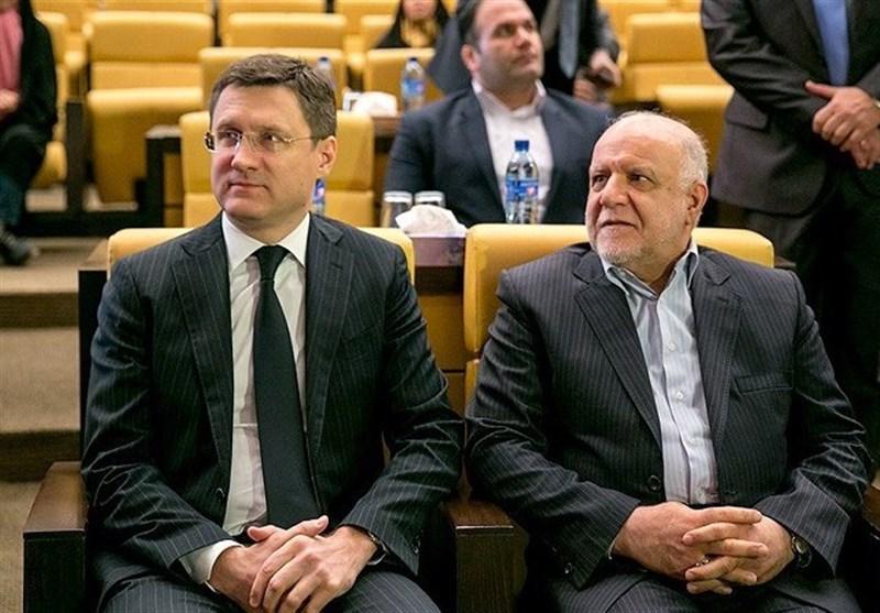 Iran's Zangeneh, Russia's Novak Discuss Energy Cooperation