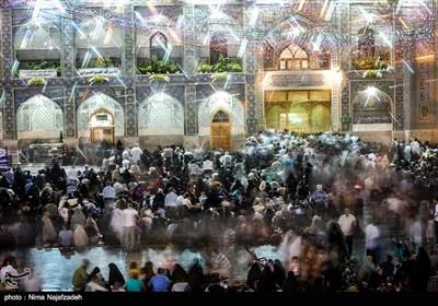 Pilgrims Mark Birth Anniversary of Imam Reza (AS) in Mashhad