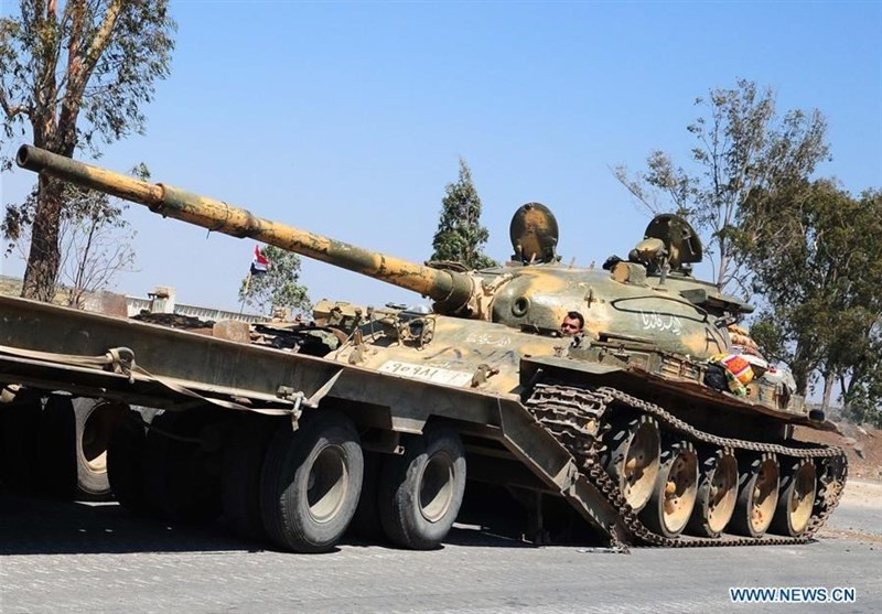 Another Convoy of Syrian Forces Head towards Idlib (+Video)