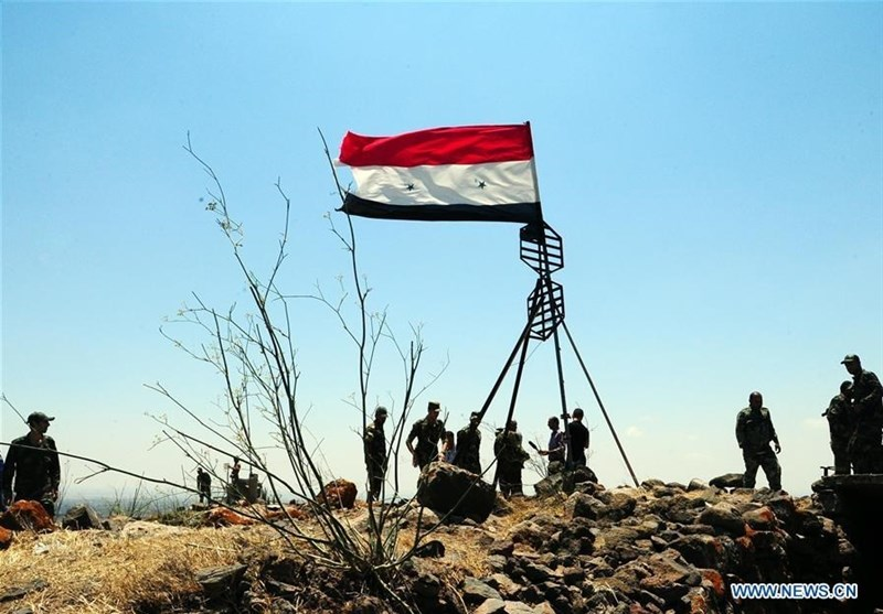 Syria Army Retakes Key District in Sweida