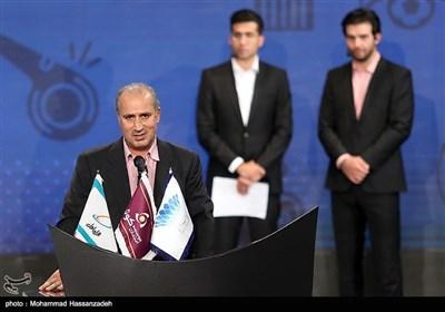 مهدی تاج رئیس فدراسیون فوتبال در مراسم انتخاب برترینهای هفدمین دوره لیگ برتر فوتبال