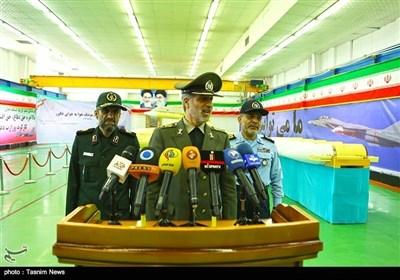 ایران؛ فضا سے فضا میں مار کرنے والے میزائل فکور کی تقریب رونمائی