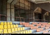 انتظار 15 ساله برای افتتاح ورزشگاه 15 هزار نفری ارومیه +تصاویر
