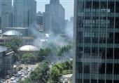 انفجار در نزدیکی سفارت آمریکا در پکن + فیلم و عکس