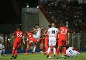 جام حذفی فوتبال| پیروزی پُرگل نساجی مقابل شاهین لردگان در نیمه اول