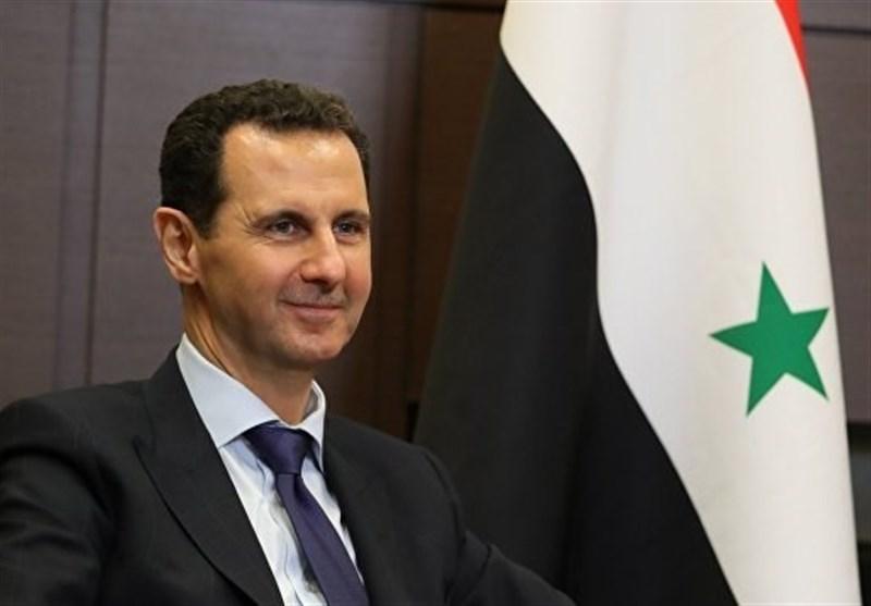 بشار اسد : نبرد ما با طمعورزیهای غرب ادامه دارد/ جنگ تنها با نابودی تروریسم پایان مییابد