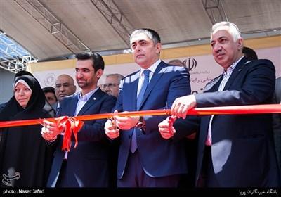 افتتاحیه نمایشگاه الکامپ با حضور آذری جهرمی وزیر ارتباطات