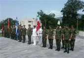 Iran Police Attend Army Games in Armenia
