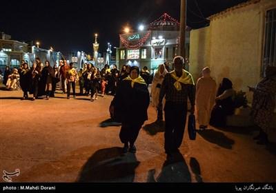 کاروان زائر اولی ها در مشهد مقدس