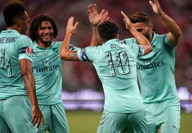 جام قهرمانان بینالمللی  برتری پرگل آرسنال مقابل پاریسنژرمن از دریچه تصاویر